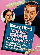 Charlie Chan At The Olympics - 1937 - Movie Poster Magnet