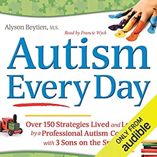 Autism Every Day audiobook cover art