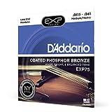 D'Addario EXP75 - Juego de cuerdas para mandolina de fósforo/bronce