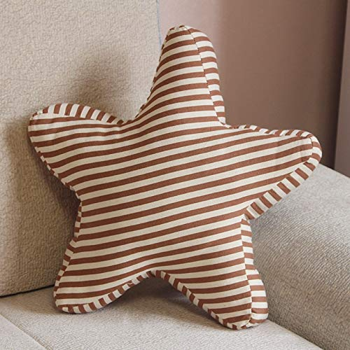 HUANGMENG Pillow Pentagram Shape Cushion Bed Backrest Support Throw Pillow with Pillow Insert, Size: 45 x 45cm (Color : Color3)