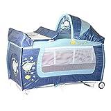 Lorelli 10080371816cama paraguas + Mode cama mecedora Danny 2azul