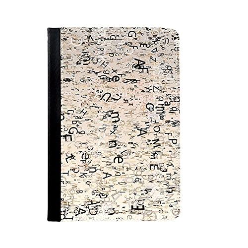 Desconocido Tener con Letter Cubre Caso Compatible para Apple iPad 2/3/4 Mujer
