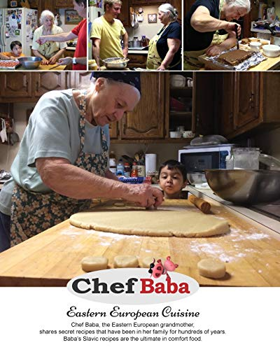 Compare Textbook Prices for Chef Baba Cookbook: Eastern European Cuisine Black and White ed. Edition ISBN 9780999698419 by Perge, Miroslava,Perge, Damir