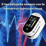 Zoom IMG-1 pulsomedical saturimetro da dito professionale