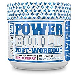 Jacked Factory PowerBuild post workout supplement