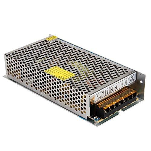 OYY DC 12V 15A Trafo Transformator Netzteil Schaltnetzteil Netzgerät Stromversorgung für LED Strip 3D Drucker und weitere Geräte mit DC 12V