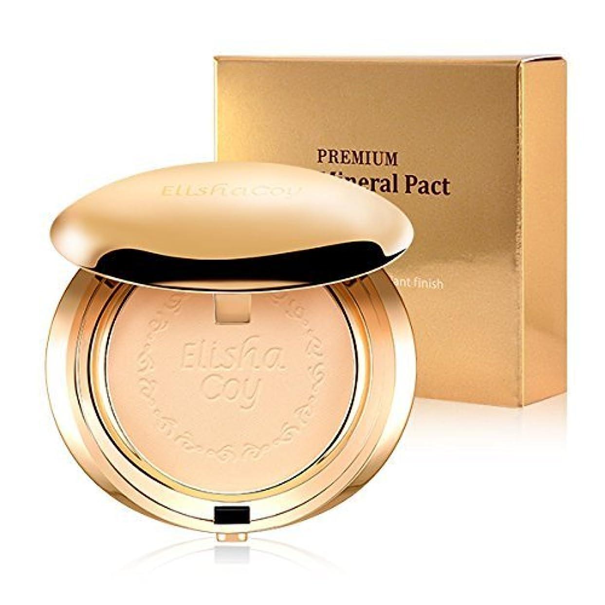 ピンチ見物人コンチネンタルElishacoy Premium gold mineral pact No.23 アリシアこいプレミアムゴールドミネラルファクト [並行輸入品]