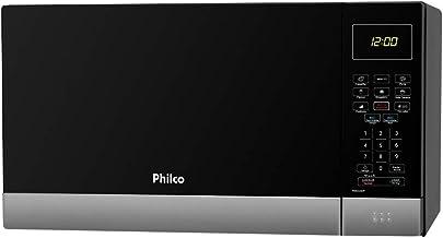 Micro-ondas Philco PMO26IP 26 Litros com Menu Fit Preto com Inox - 110v