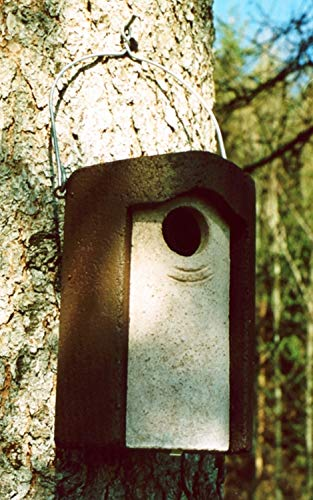 Naturschutzprodukt Starenhöhlen Nistkasten Nisthöhle Naturprodukt Typ 3S Flugloch 45 mm Satz 2 Stück