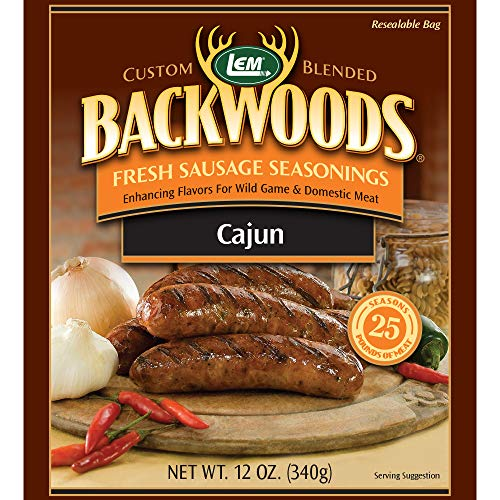LEM Backwoods Cajun Fresh Sausage Seasoning
