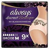 Always Discreet Boutique Höschen Bei Blasenschwäche Medium, 9 Stück