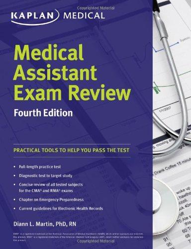 Download Medical Assistant Exam Review (Kaplan Medical) 160978894X