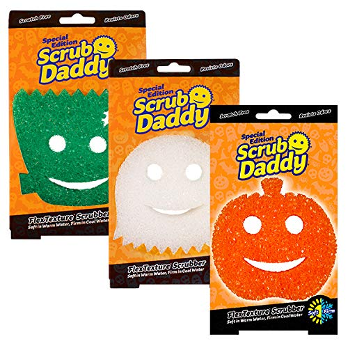 Scrub Daddy Halloween Special Edition Sponges - 3 Pack