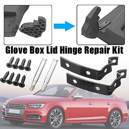 ZqiroLt Z-förmige Halterung, Reparatursatz, Scharnier am Handschuhfachdeckel, eingerastet für Audi A4 S4 RS4 B6 B7 8E