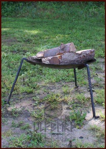 Ulfberth Robuste Feuerschale mit abnehmbaren Standbeinen aus 2mm starkem Stahl! 1A Qualität