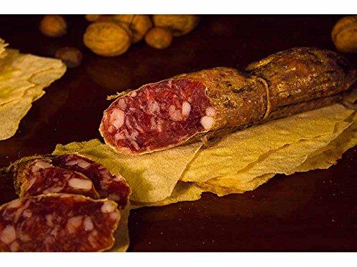 5 x 400 gr - Salame di pecora realizzato in Sardegna dal Salumificio Su Sirboni, prodotto da carni italiane accuratamente selezionate dai nostri artigiani sardi