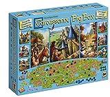 Asmodee Carcassonne Big Box, Grundspiel, Familienspiel, Deutsch