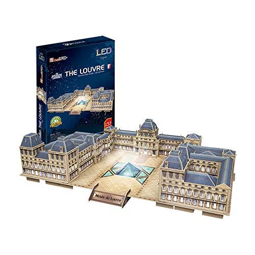 Tachan Puzzle 3D LED Museo del Louvre (Cubic Fun L517)