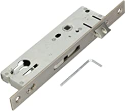 KOTARBAU® Buisframeslot 92 mm doornmaat 30 mm roestvrij staal insteekslot deurslot slot slotinzetstuk voor profielcilinder...