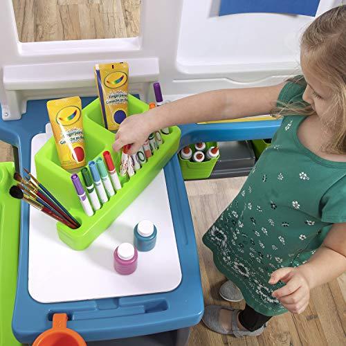 Step2 Great Creations Art Center Art Desk Easel, Multi
