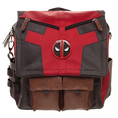 Marvel Deadpool Costume Inspired Utility Bag Crossbody Messenger Laptop Case