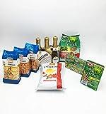 IDEA REGALO FESTA DEL PAPÀ 2021 Maschio Prosecchino x3 + Patatine San Carlo Più Gusto + Fatina Snack Mexican , Arachidi Paprika, Rice Crackers + Cameo Arachidi Tris