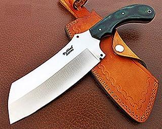 Sponsored Ad - RK-CP-338, Handmade Carbon Steel Chopper Knife – Solid Micarta Handle