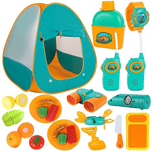 ToyVelt Kids Camping Tent Set -Includes...