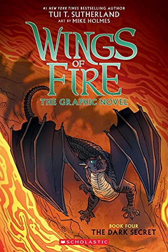 The Dark Secret (Wings of Fire Graphic Novel #4): A Graphix...