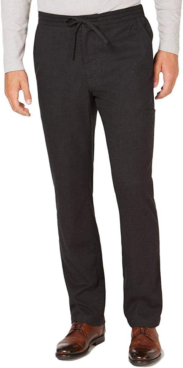 Tasso Elba Mens Drawstrings Casual Trouser Pants
