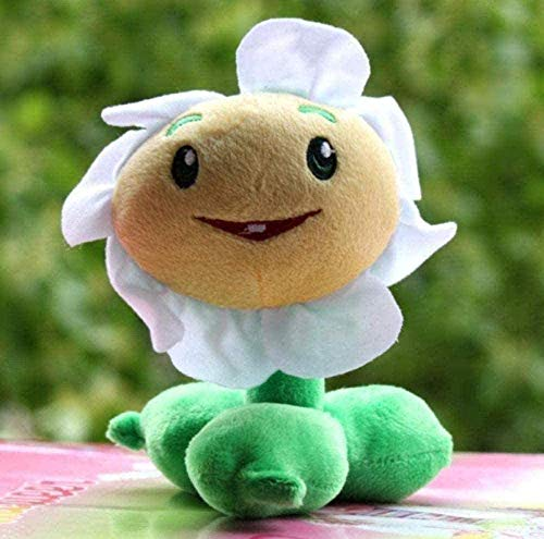 FENGK Plush Juguete Planta Zombie carácter pequeño Ojos Peluche Animal Peluche niños s Juguete