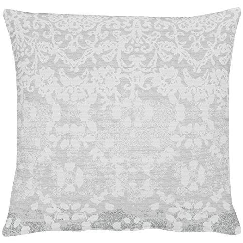 APELT Tilda_49x49_88 Kissenhülle, Polyester, grau, 49 x 49 x 0.5 cm