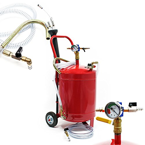Dispositivo pneumatico di aspirazione dell\'olio da 22,7 l per cambio olio ed estrazione olio