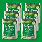 89% LOWER IN CARBS THAN RICE: Each pouch has just 6g of carbs & 35 calories making it one of the lowest carb rice alternatives you can find. KETO & PALEO RICE ALTERNATIVE: Fullgreen Riced Cauliflower & Broccoli has only 6g of carbs per pack (consisti...
