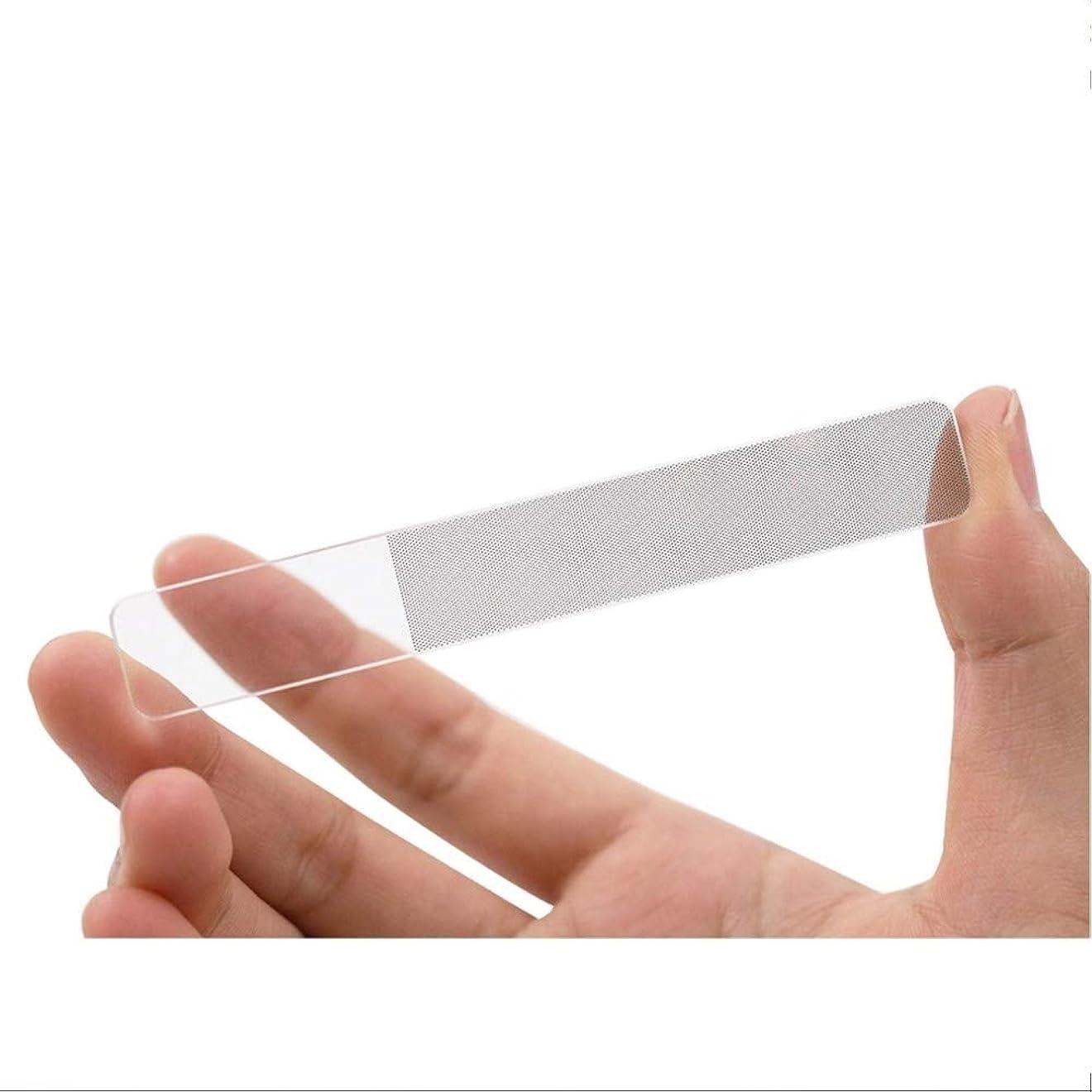生態学墓地マーカーWith Grado ガラス製 爪 やすり 磨き ピカピカ ネイルケア (ぴかぴか爪やすり)