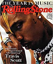 Rolling Stone Magazine issue :- January 2019 Cover :- TRAVIS SCOTT + Magazine Cafe Bookmark
