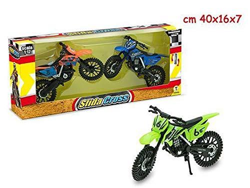 Teorema Mr. Boy-Sfida Acrobatica Motocross Scala 1 12, Multicolore, 65701