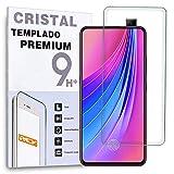 REY Protector de Pantalla para Vivo S1 - Vivo V15, Cristal Vidrio Templado Premium