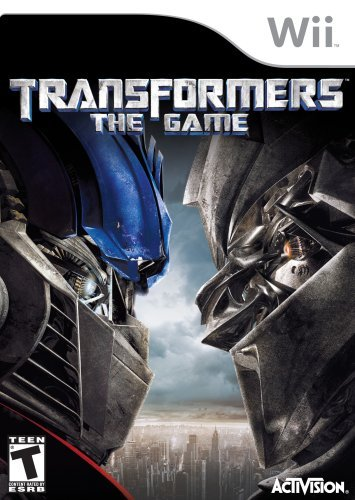 Transformers the Game  Nintendo Wii Renewed