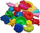 KSS Schönes Förmchen Set 10 Stück Sandspielzeug Strandspielzeug Sandkasten