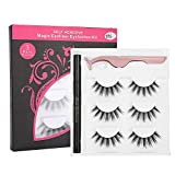 Magic Eyeliner und Eyelashes Kit - Selbstklebender Eyeliner Wasser Liquid Eyeliner Make-up-Werkzeugset für