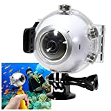 Underwater Housing Case for Samsung Gear 360 Camera (2016 V1 only) - NOT 2017 Version