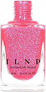 ILNP Misbehaving - Vivid Neon Pink Holographic Sheer Jelly Nail Polish