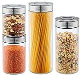SILBERTHAL Tarros de almacenamiento hermeticos | Tarros despensa cocina | Botes...