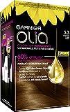 Garnier Coloration permanente châtain clair doré 5.3 - Olia - La boîte de 120 g