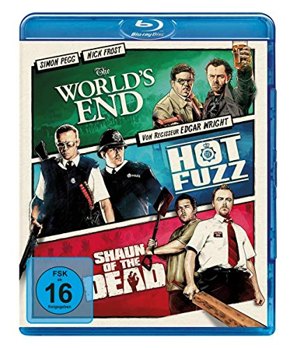 World's End/Hot Fuzz/Shaun of The Dead. [Blu-Ray] [Import]