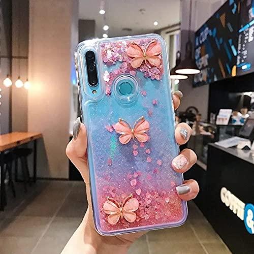 DEIOKL 3D Glitter Quicksand Funda para teléfono para Samsung Galaxy A10S A20E A30S A50 A70 A11 A21S A31 A51 A71 A81 A91 A6 A8 A7 A9 2018, sin Correa 3, para Galaxy A20E