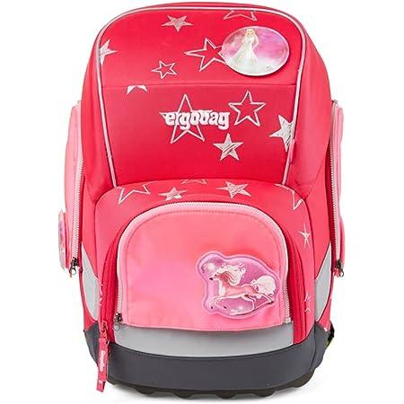 ergobag - Sicherheits-Set, pack, cubo und cubo light gekauft nach Juli 2019, Set 3-teilig Pink - Pink