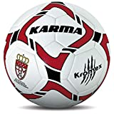 KROMEX Balón Fútbol Karma. Oficial R.F.F.M. (Blanco, 4)