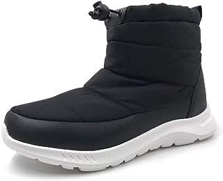 Amoji Women Snow Boots Winter Shoes Outdoor Sneakers